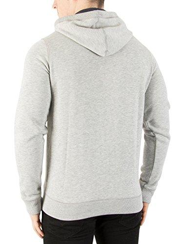 Tommy Jeans Herren Sweatshirt Tjm Original Zip Hoodie Grau (Lt Grey Htr 038)