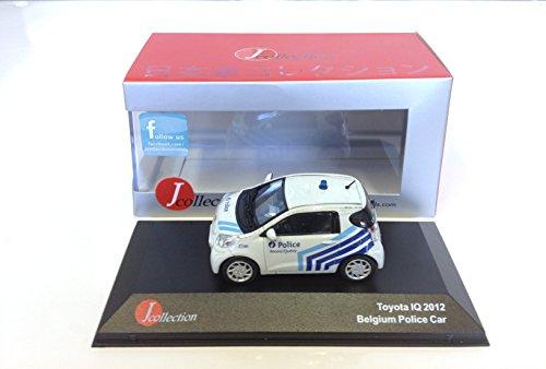 Ixo Toyota IQ Belgium Police 2012 Voiture 1/43 Japan JC181