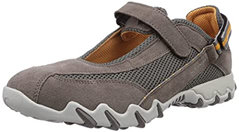 Allrounder by Mephisto Niro, Baskets mode femme, Gris (60/S 60 Grigio), 39 EU (5.5 UK)