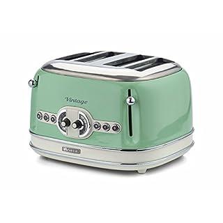 Ariete Vintage 156 G Retro Toaster 4 slice Green