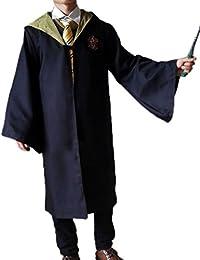 Ninimour Gryffindor Ravenclaw Slytherin Hufflepuff Erwachsene Kinder Mantel Robe Kleider Kostüme