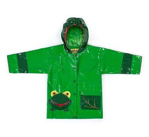 Kidorable Original Branded Frog Raincoat for Girls, Boys, Children, Baby … (110/116)