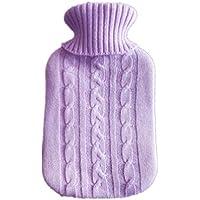 Bbacb Handwärmer aus PVC, mit Strickbezug, 2 l, transparent preisvergleich bei billige-tabletten.eu