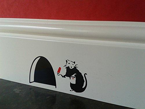 souris-trou-petit-sticker-mural-design-de-banksy-rat-avec-peinture-etain-et-rouleau-rouge-et-noir-pl