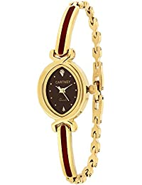 Cartney Collection Analog Red Dial Women's Watch - CM114