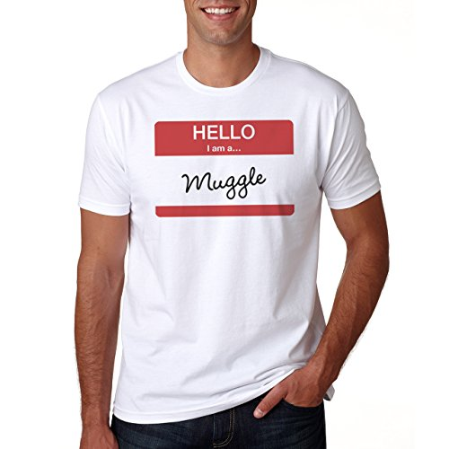 Hello I Am A Muggle Herren T-Shirt Weiß