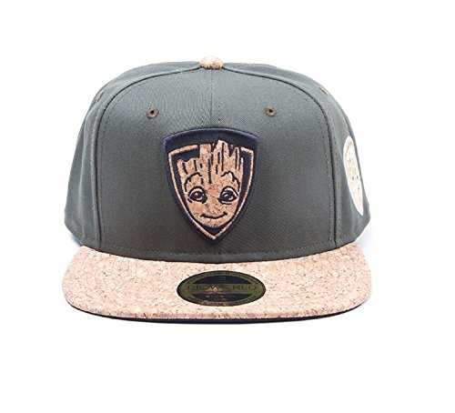 Preisvergleich Produktbild Guardians Of The Galaxy 2 Baseball Cap Groot badge Nue offiziell snapback