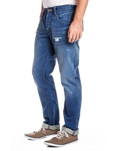 ... Timezone Herren Slim Jeans 26-7502 ALTZ GMT Blau (atlantic blue wash  3290) ...