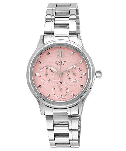 Casio Enticer Analog Silver Dial Women's Watch - LTP-E306D-4AVDF(A998)