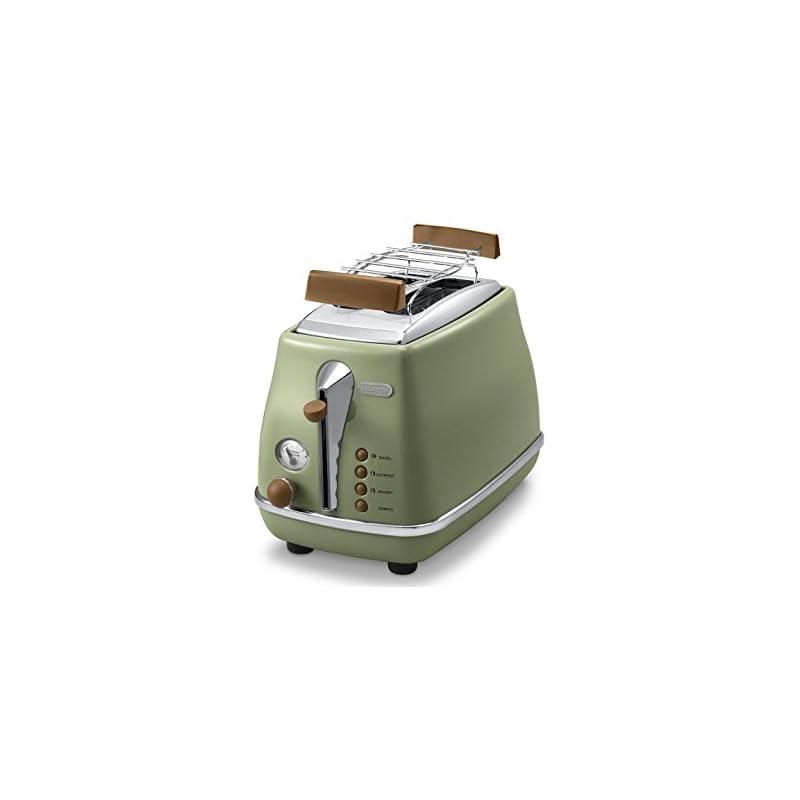 Delonghi Ctov 2103bk Toaster Icona Vintage