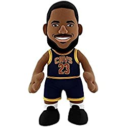 "NBA Cleveland Cavaliers LeBron James Plush Figure, 10"", Navy"