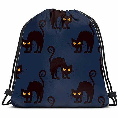 Pattern girlsautumn Special Backpack Sack Bag Gym Bag for Men & Women 17X14 Inch ()