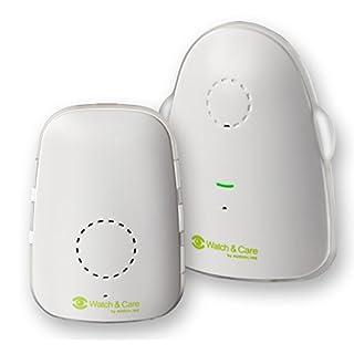Audioline, Watch and Care 60, Babyphone mit digitaler Tonübertragung, weiß