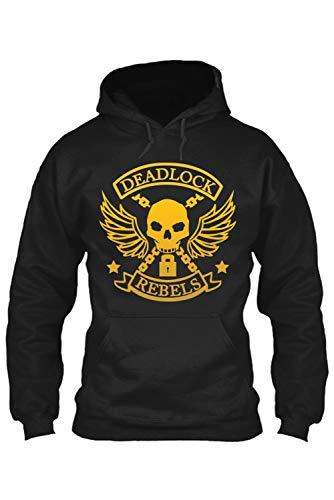 MingoTor Superheld Hoodie Pullover Sweatshirt Erwachsene Schwarz M - Erwachsenen Hoodie Pullover
