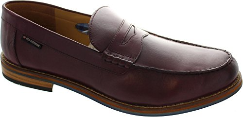 Ben Sherman Herren Stepney Burnish Slipper Rot