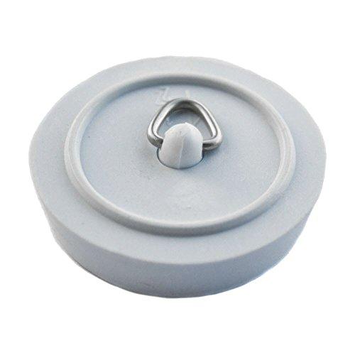 Lot de 2 bondes de vidange en caoutchouc pour évier, cuisine, salle de bain, lavabo, baignoire 2,5 cm