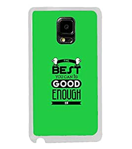 FUSON Designer Back Case Cover for Samsung Galaxy Note Edge :: Samsung Galaxy Note Edge N915Fy N915A N915T N915K/N915L/N915S N915G N915D (Motivational Quotes Extraordinary Motivational quote Green color wallpapr Nice quote design Good looking wallpaper)