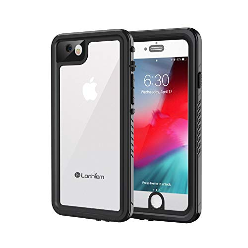 Lanhiem Funda Impermeable iPhone 7/8, Carcasa Sumergible...