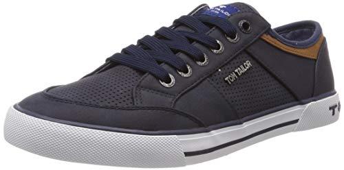 TOM TAILOR Herren 6980801 Sneaker, Blau (Navy 00003), 45 EU - Blau-herren Toms