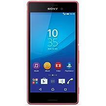 Sony Xperia M4 Aqua 8GB 4G Coral, Rojo - Smartphone (SIM única, Android, EDGE, GPRS, GSM, HSPA, HSPA+, UMTS, LTE, Micro-USB)