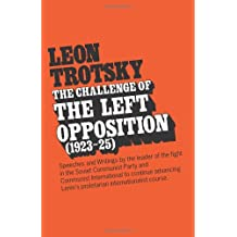 The Challenge of the Left Opposition 1923-25