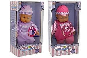 Kidz Corner Baby & Me Bebè 30cm con aspectos,, 439051