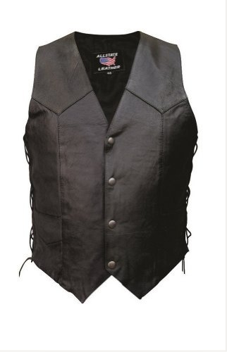 mens-al2201-basic-side-laced-vest-x-small-black-by-allstate-leather