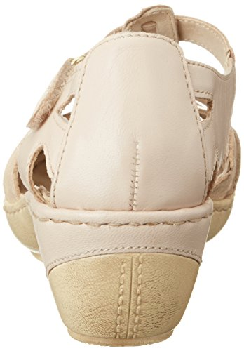 Caprice Damen 24551 Offene Sandalen mit Keilabsatz Beige (BEIGE NAP COMB)