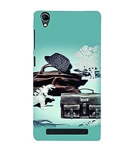 PrintVisa Cool Boy 3D Hard Polycarbonate Designer Back Case Cover for Intex Aqua Power Plus