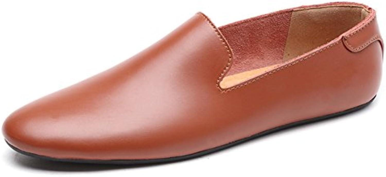 QIDI-Men's scarpe, Scarpe Scarpe Scarpe Stringate Uomo Marronee Marronee EU40 UK7 | Forte calore e resistenza all'abrasione  | Uomo/Donna Scarpa  86de7a