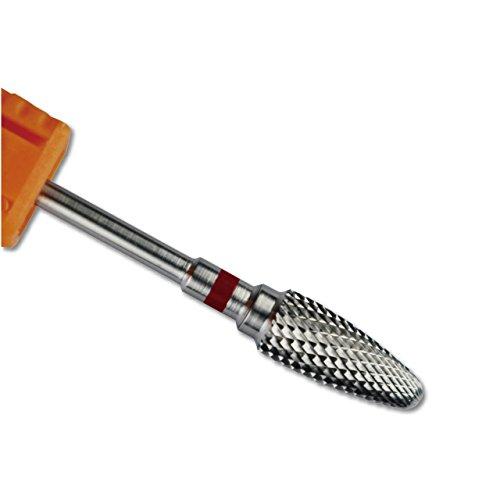 Carbide Nagel-Bohrgerät-Maschine für elektrische Maniküre Nail of Beauty (Zahn Fein, Silber) (Eine C-maschine)
