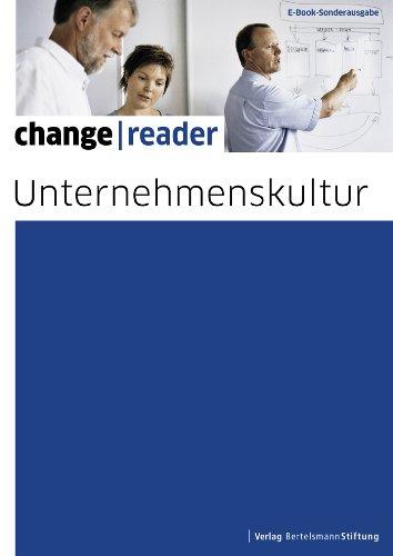 Unternehmenskultur (change reader) (German Edition)