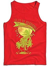 a9e1ca70c Amazon.es  Ropa Para Playa Hombres - Camisetas de tirantes ...