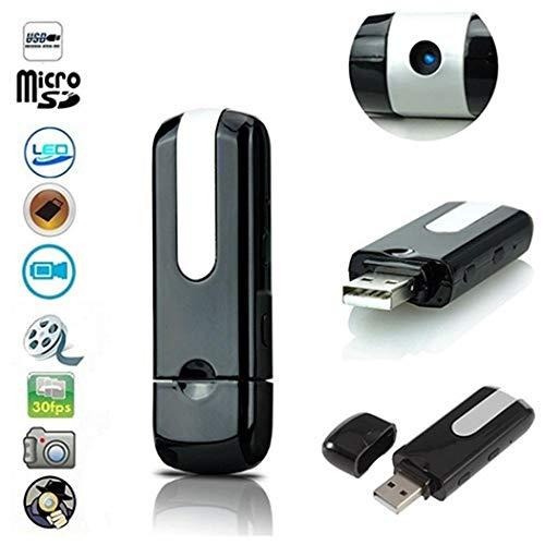 Qiopes U Disk Caméra Espion Détecteur de Mouvement Enregistreur vidéo Caméra Espion