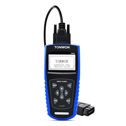TONWON OBD2 Diagnosegerät OBD II Code Scanner Check Motor Licht Auto Fehlercodes Leser ausschalten MIL - TW60