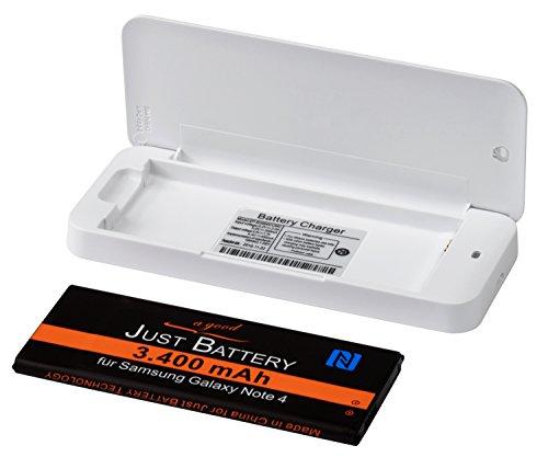 externes Ladegerät für Samsung Galaxy Note 4 SM-n910F Akkus