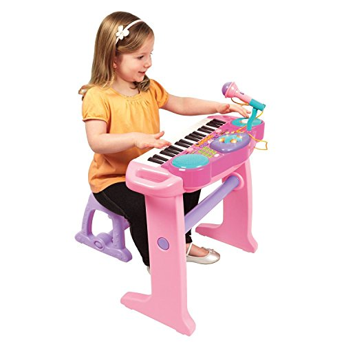 bruin-light-up-keyboard-with-stool-pink