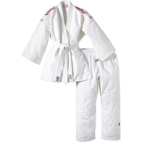 Danrho Yamanashi - Quimono de judo con bandas en los hombros