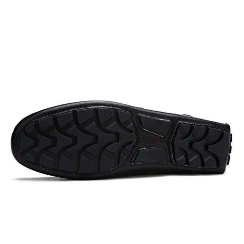 ZXCV Scarpe all'aperto I pelli di puro pelo di colore degli uomini pattino scarpe casual degli uomini Bianca