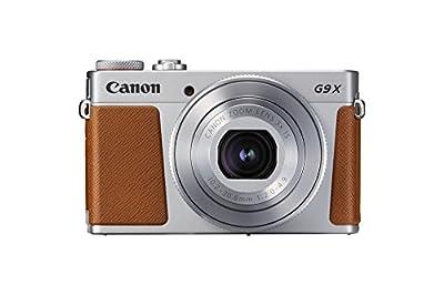 Canon PowerShot G9 X Mark II Kompaktkamera (20,1 Megapixel, 7,5 cm (3 Zoll) Display, WLAN, NFC, 1080p, Full HD)