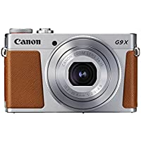 Canon PowerShot G9 X Mark II Kompaktkamera (20,1 Megapixel, 7,5 cm (3 Zoll) Display, WLAN, NFC, 1080p, Full HD) silber