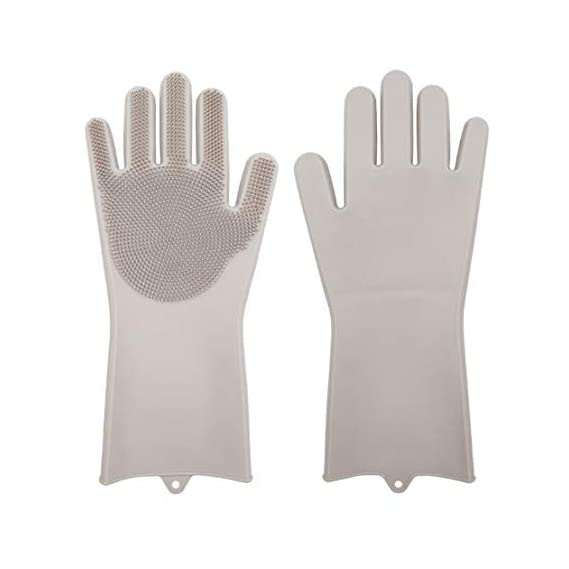 Jolly Gloves Magic Dishwashing Gloves with Scrubber