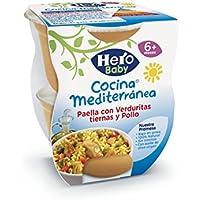 e6e9f6e32ee23 Hero Baby - Cocina Mediterránea Paella Con Verduritas Tiernas Y Pollo - ...
