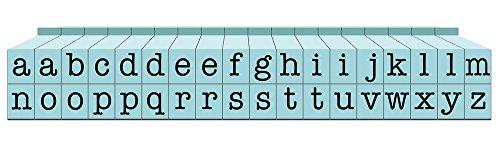 Contact USA Alphabet-Stempelbausteine CU-07083 Pegz, Lassen Sich verbinden, mit Kleinbuchstaben, S, Poolblau