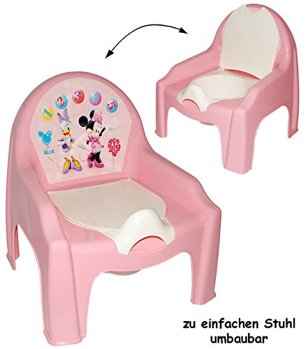 alles-meine.de GmbH 2 in 1: Nachttopf + Kinderstuhl _ Töpfchen / Nachttopf -  Disney Minnie Mouse..