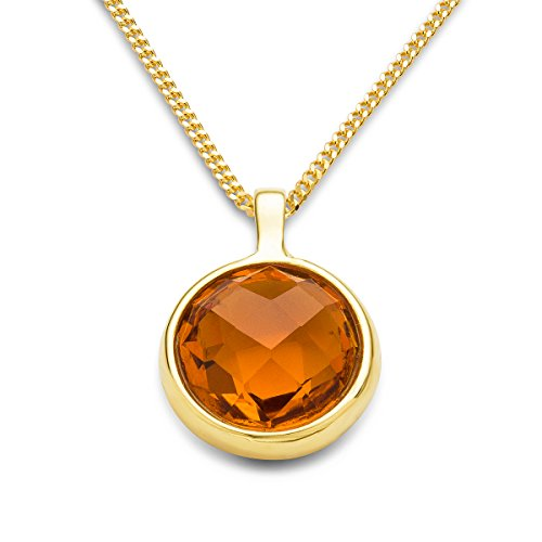 miore-ladies-9-ct-yellow-gold-round-cut-citrine-bezel-pendant-with-chain-of-45-cm