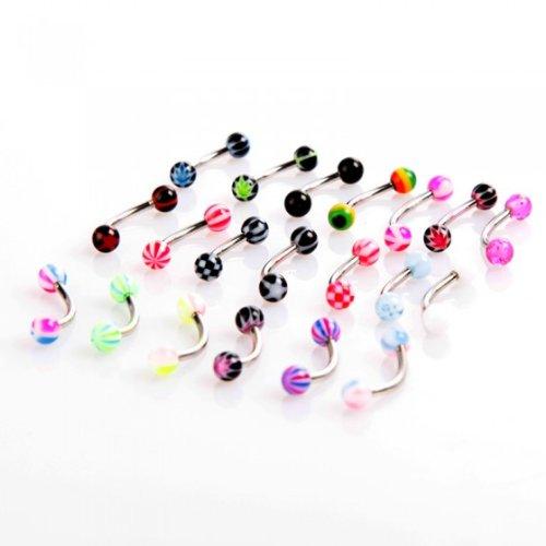 lot-de-20-piercings-courbes-en-acier-inoxydable-avec-boule-pour-arcade-tragus-multicolore