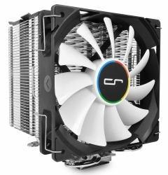 Cryorig H7 - Enfriador del Procesador, Negro/Plata/Blanco, dimensiones del ventilador 120 x 120 x 25.4 mm, dimensiones totales 126 x 123 x 145 mm