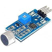 fgyhtyjuu Sonido Sensor de Sonido del módulo del Sensor de detección del vehículo Inteligente para Arduino