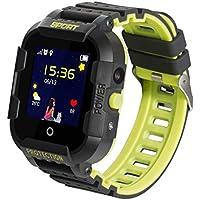 JBC GPS-Telefon Uhr/Smartwatch Outdoor Wasserdicht OHNE Abhörfunktion, für Kinder, SOS Notruf+Telefonfunktion, Live GPS+LBS Positionierung, funktioniert weltweit, Anleitung + App + Support auf deutsch